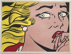 Crying Girl, by Roy Lichtenstein