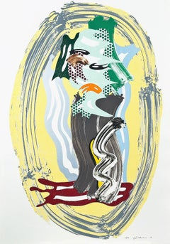 Green Face, Roy Lichtenstein