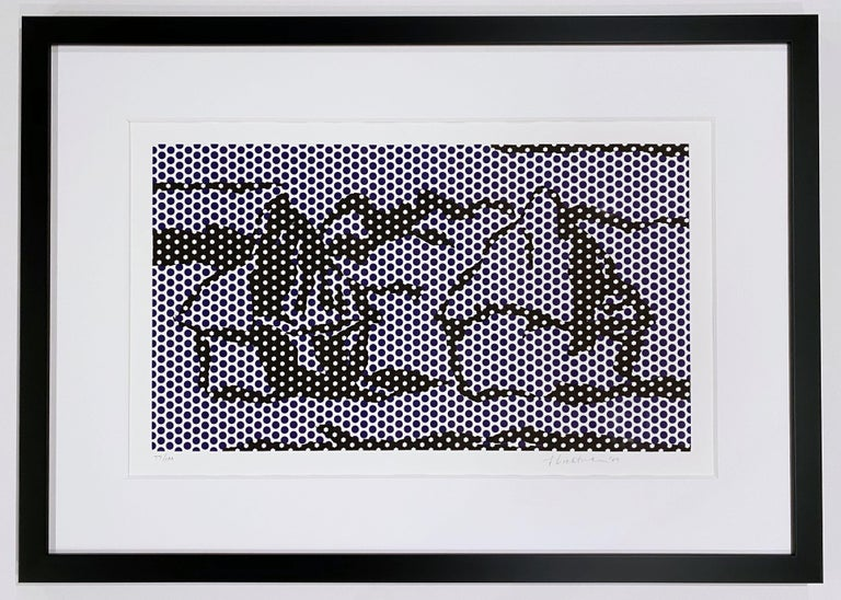 Roy Lichtenstein Abstract Print - Haystack #3