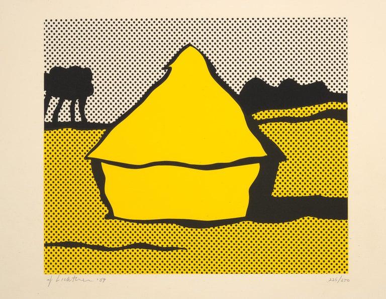 Haystack - Roy Lichtenstein - Pop art  - Print by Roy Lichtenstein