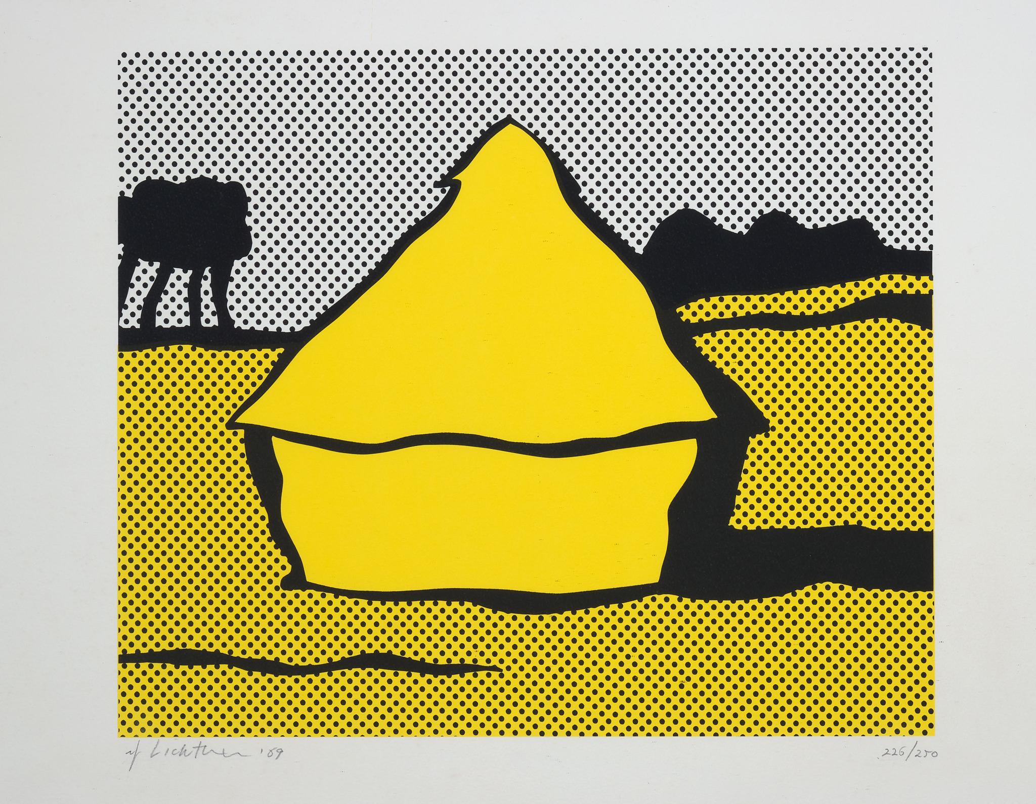 Haystack - Roy Lichtenstein - Pop art