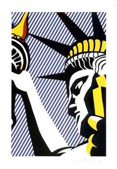 I Love Liberty, Roy Lichtenstein