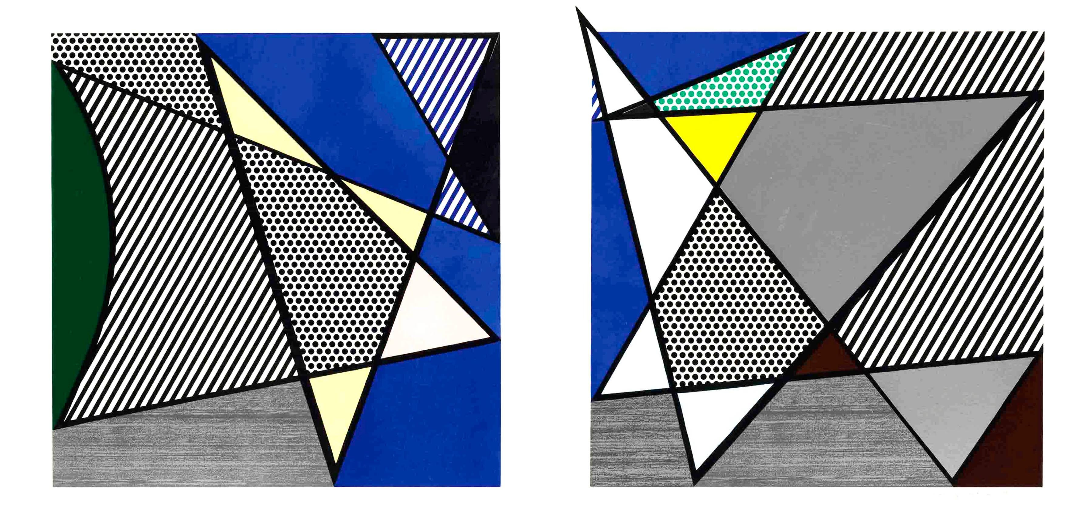 Imperfect Diptych 46 1/4'' x 91 3/8'', from: Imperfect Series