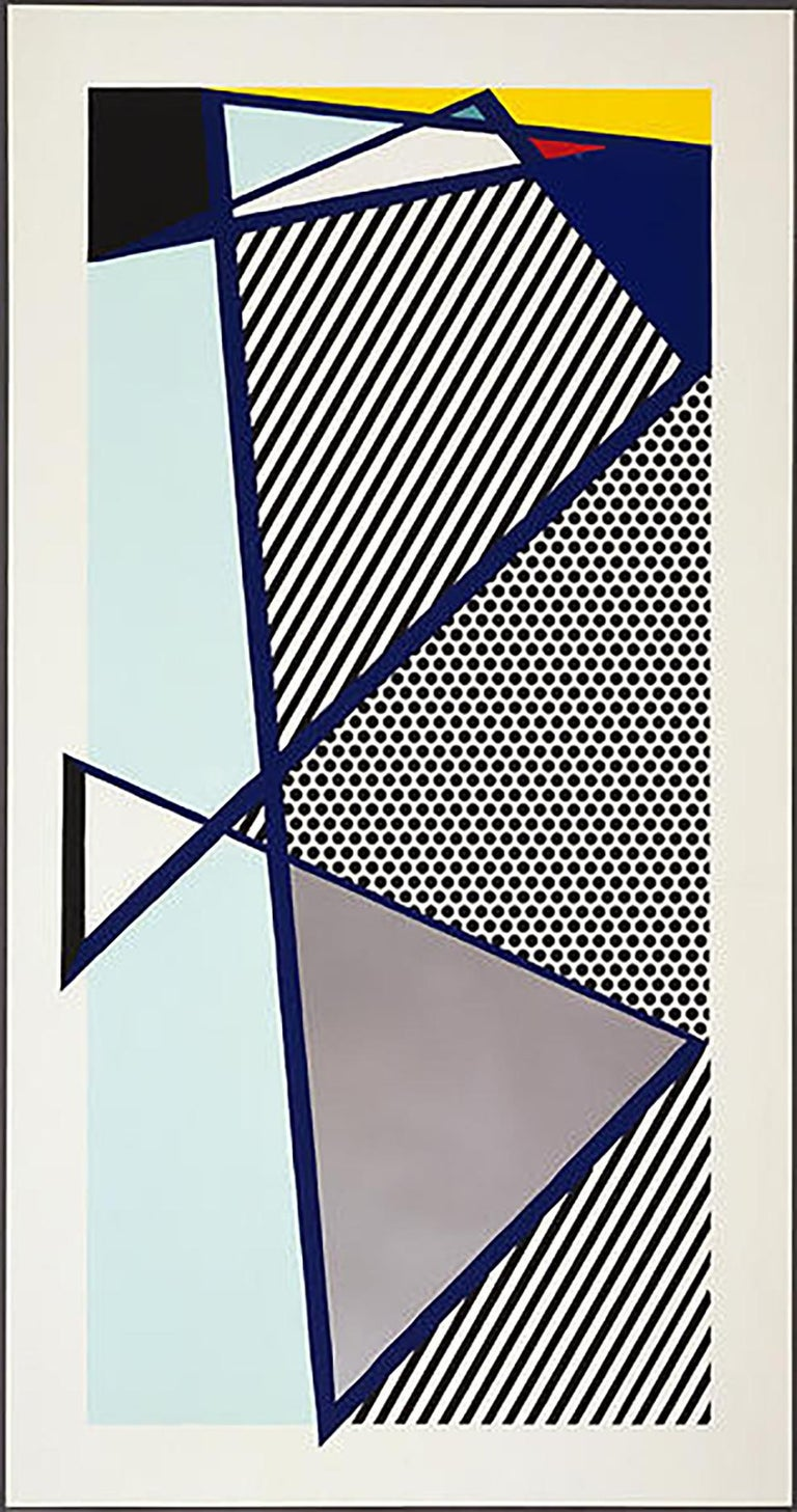 Roy Lichtenstein Imperfect Print for B.A.M. Artist: Roy Lichtenstein Medium: Original woodcut and screenprint on Arches Cover paper Title: Imperfect Print for B.A.M. Portfolio: The Brooklyn Academy of Music 125th Anniversary Portfolio Year: