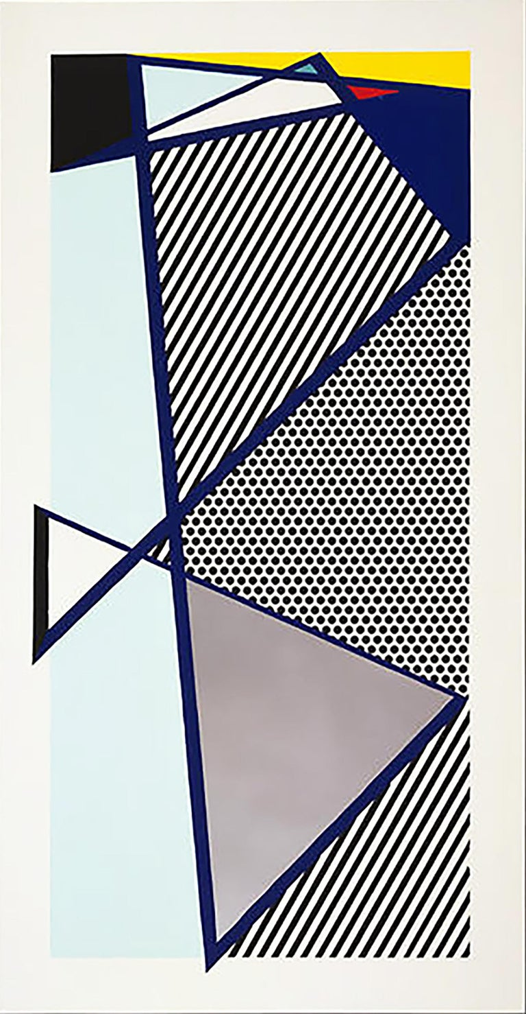 Roy Lichtenstein Abstract Print - Imperfect Print for B.A.M.