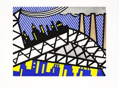 Lichtenstein, Bayonne en Entrant dans NYC, from The New Fall of America
