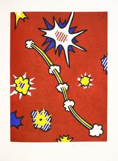Lichtenstein, De Denver au Montana, Départ 27 Mai 1972' (II)
