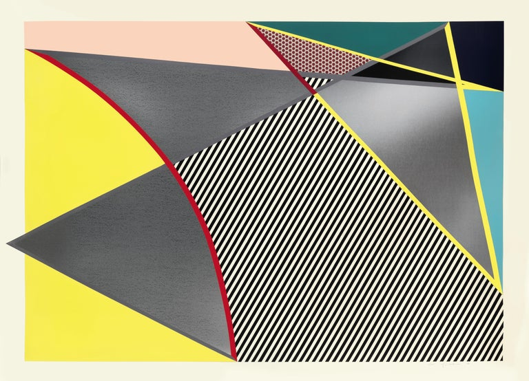 Woodcut, 1988, with screenprint and collage in colours on 3-ply Supra 100 paper, signed in pencil, dated, numbered from the edition of 45, published by Gemini G.E.L. Los Angeles, printed by Gemini G.E.L., Los Angeles, 170.6 x 231 cm (unframed);