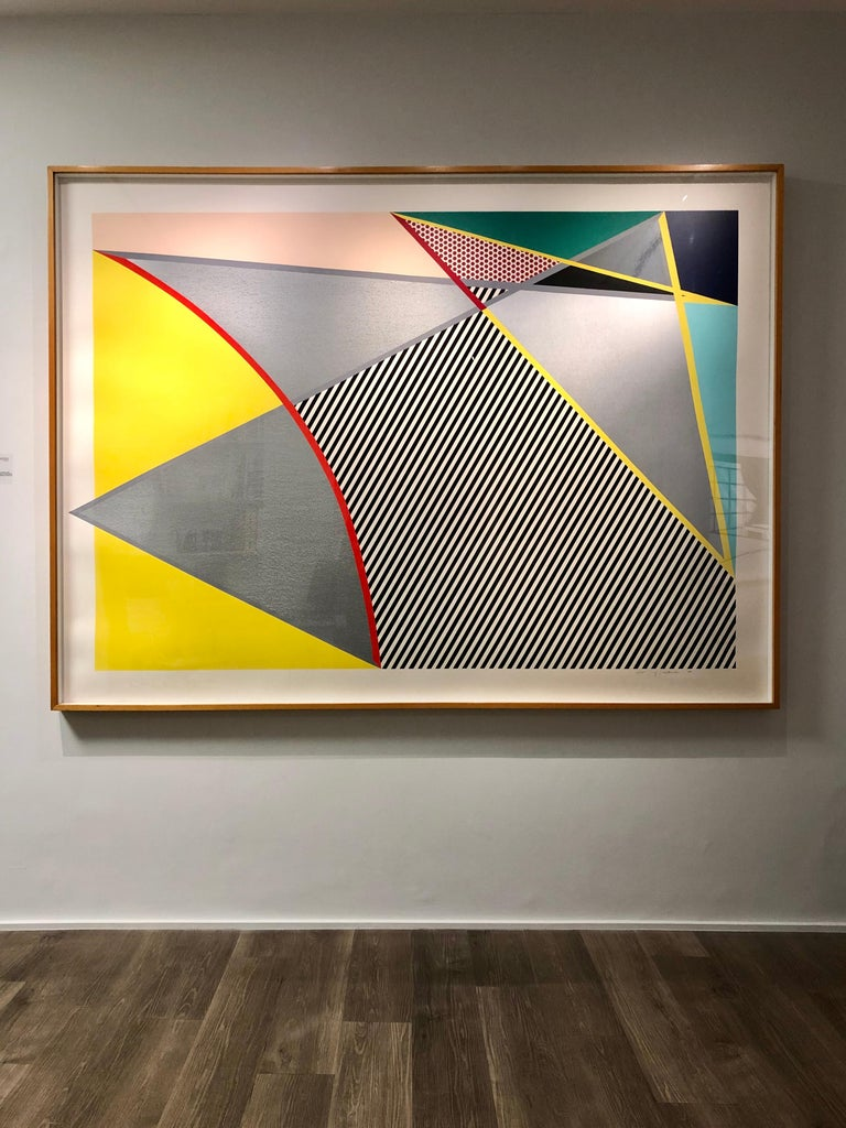 Lichtenstein, Imperfect print, from Imperfect Prints Series, 1988 For Sale 1