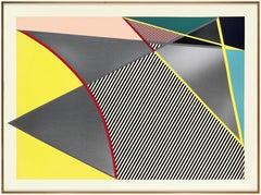 Lichtenstein, Imperfect print, from Imperfect Prints Series, 1988