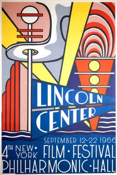 Lincoln Center - Vintage Poster with Signature - 1966