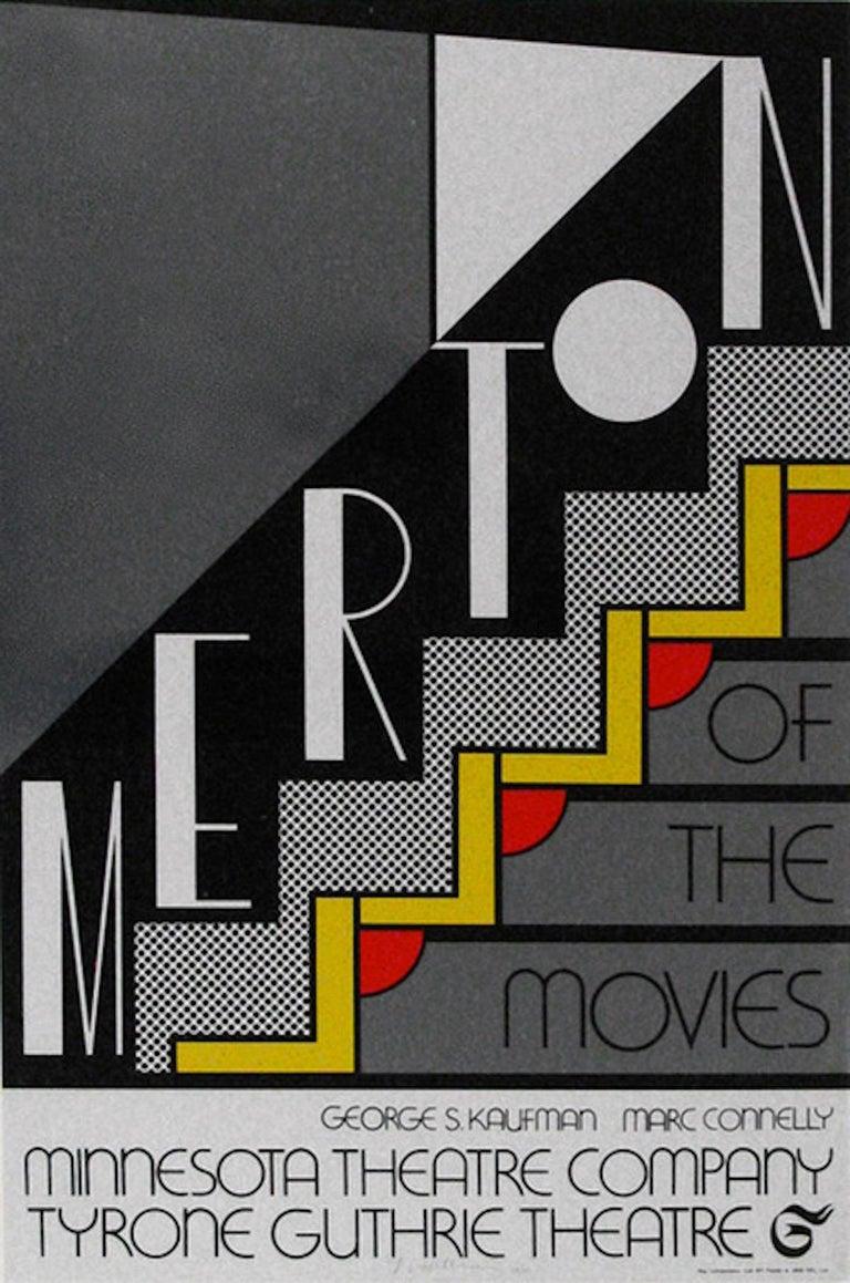 Roy Lichtenstein Print - Merton of the Movies - Original Offset and Lithograph - 1968