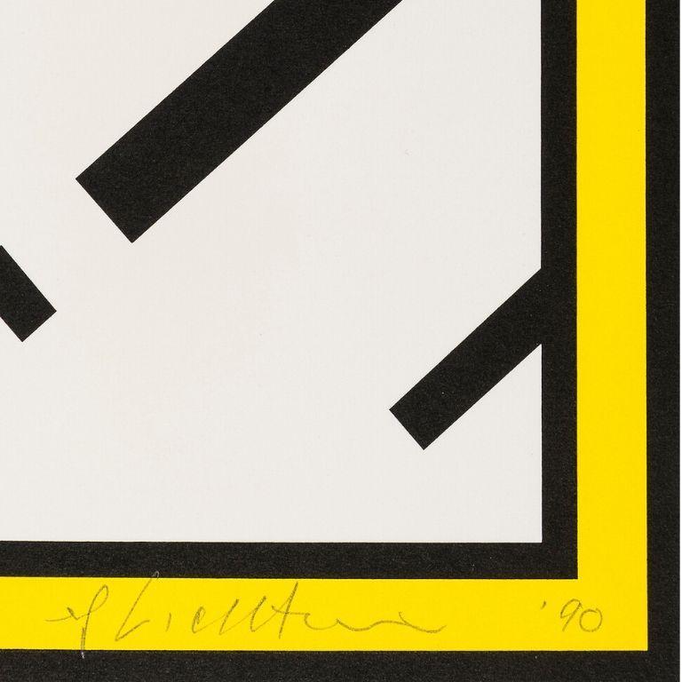 Mirror -- Screen Print, Everyday Object, Pop Art by Roy Lichtenstein For Sale 1