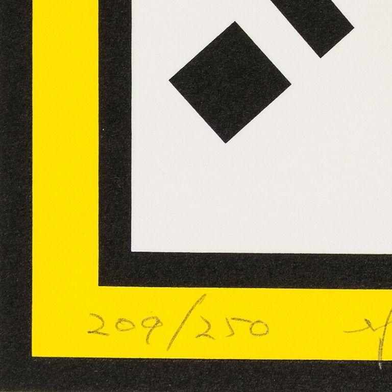 Mirror -- Screen Print, Everyday Object, Pop Art by Roy Lichtenstein For Sale 2