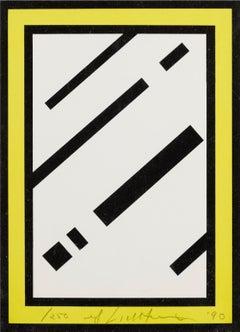 Mirror -- Screen Print, Everyday Object, Pop Art by Roy Lichtenstein