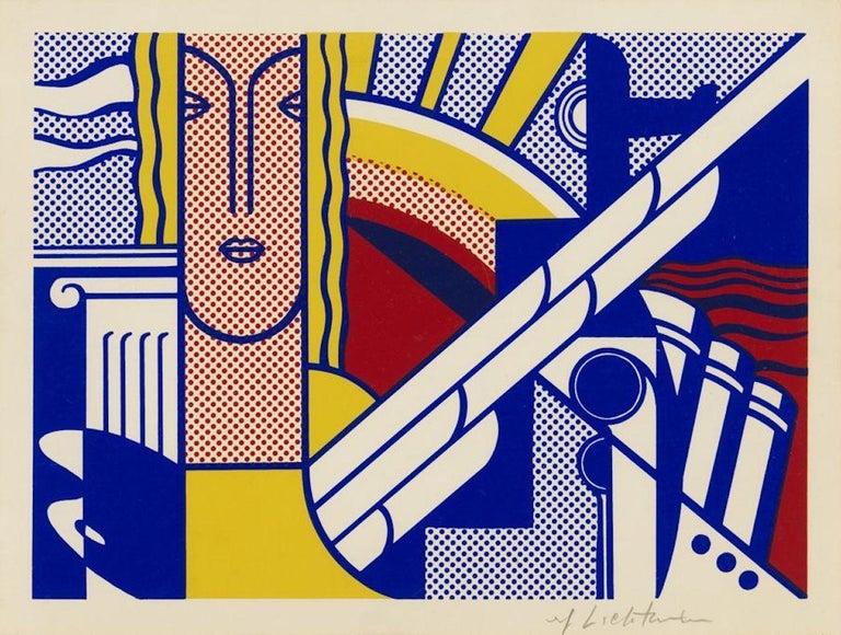 Modern Art Poster - Print by Roy Lichtenstein