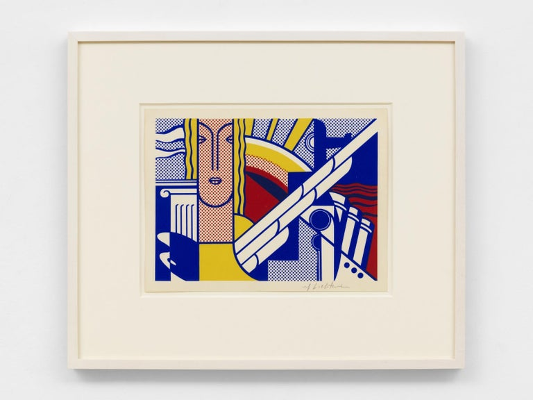 Roy Lichtenstein Print - Modern Art Poster