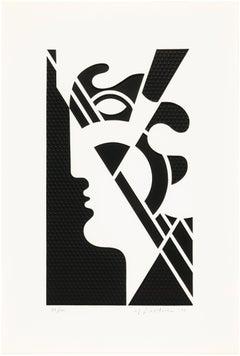 Roy Lichtenstein Modern Head #5