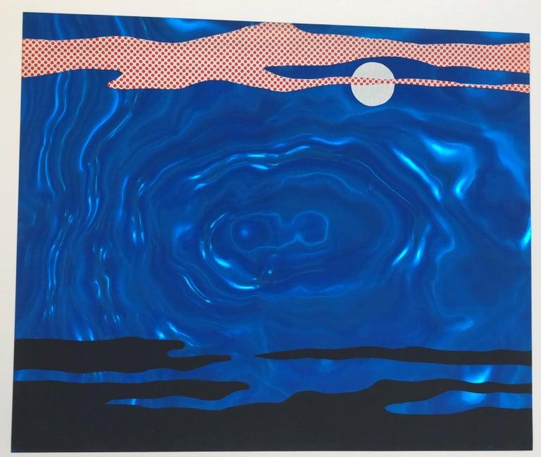 Moonscape  - Print by Roy Lichtenstein