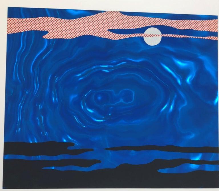 Moonscape  - Contemporary Print by Roy Lichtenstein