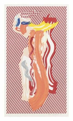 Nude from Brushstroke Figures Series