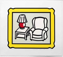 Red Lamp, Roy Lichtenstein