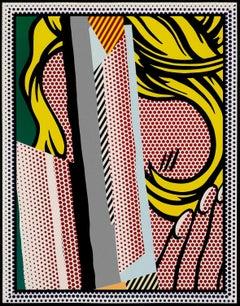 Reflections on Hair, from: Reflections Series - Pop Art, Post war, Screenprint