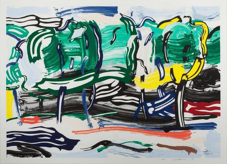 Road Before The Forest - Print by Roy Lichtenstein