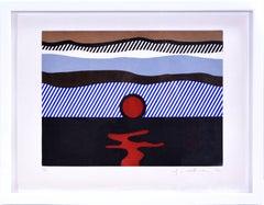 Roy Lichtenstein, De Nouveau au-dessus de Denver, from La Nouvelle Chute