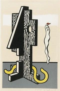 Roy Lichtenstein 'Figures (From Surrealist Series)' 1978 Print