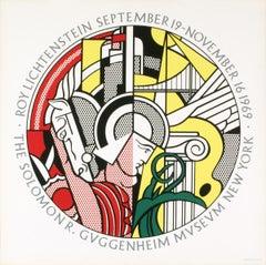 Roy Lichtenstein-Guggenheim Museum-1969 Serigraph