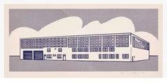 Roy Lichtenstein 'Real Estate' Lithograph 1969
