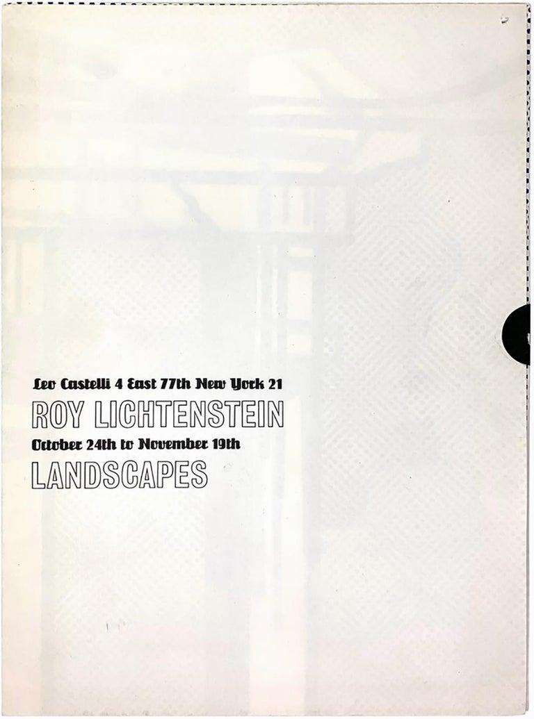 Roy Lichtenstein Temple (Castelli mailer) 1964 - Pop Art Print by Roy Lichtenstein