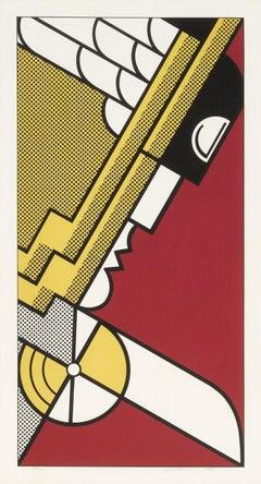 Salute to Aviation, by Roy Lichtenstein