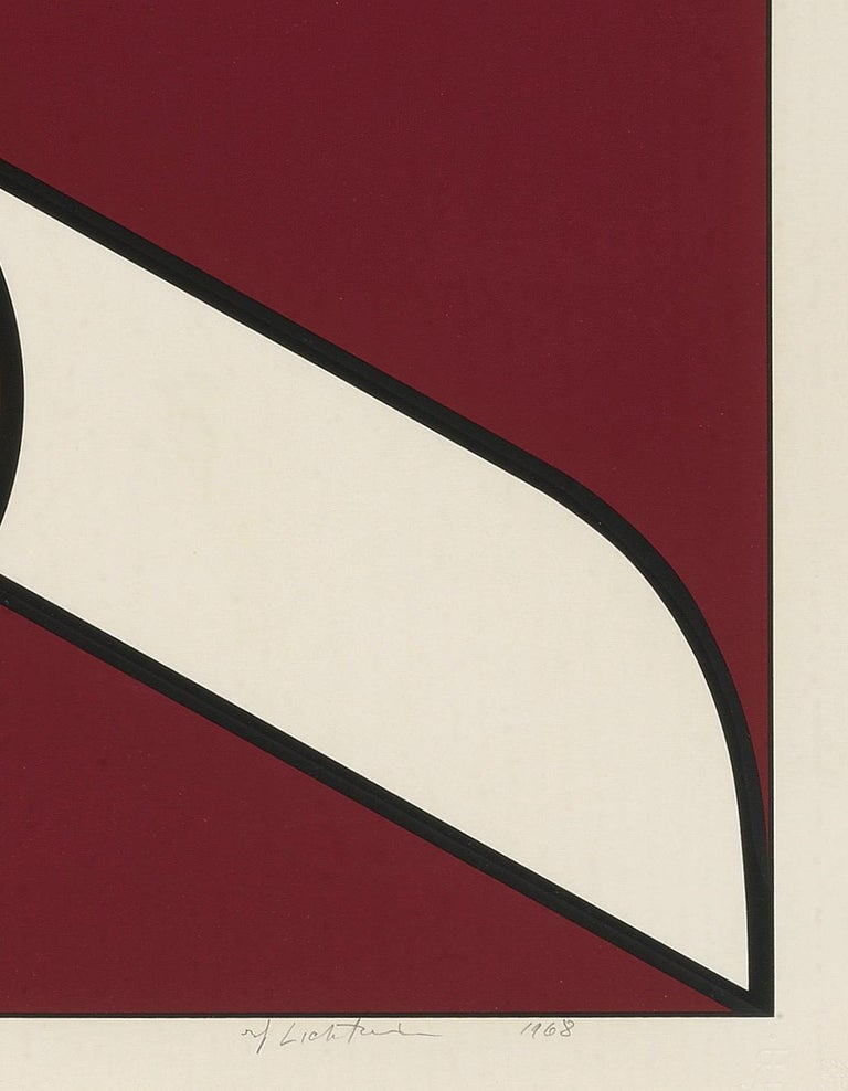 Salute to Aviation Corlett 63 - Print by Roy Lichtenstein