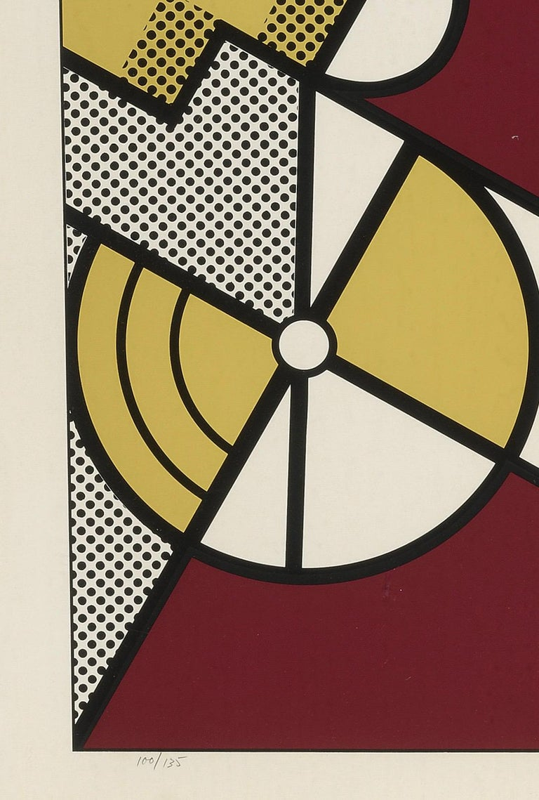 Salute to Aviation Corlett 63 - Contemporary Print by Roy Lichtenstein