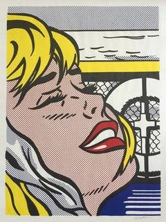 Shipboard Girl, Roy Lichtenstein