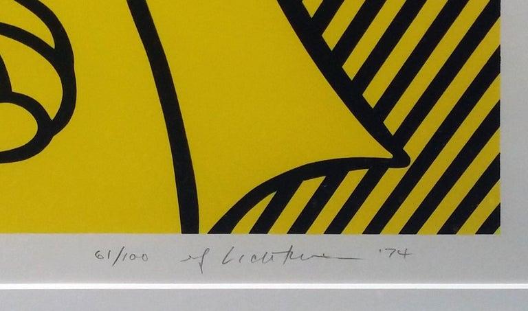 STILL LIFE WITH LOBSTER - Print by Roy Lichtenstein