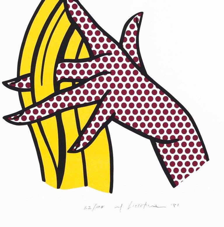 Study of Hands - Print by Roy Lichtenstein
