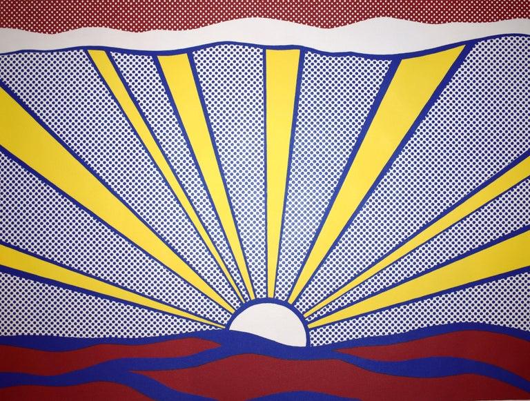 Sunrise - Print by Roy Lichtenstein