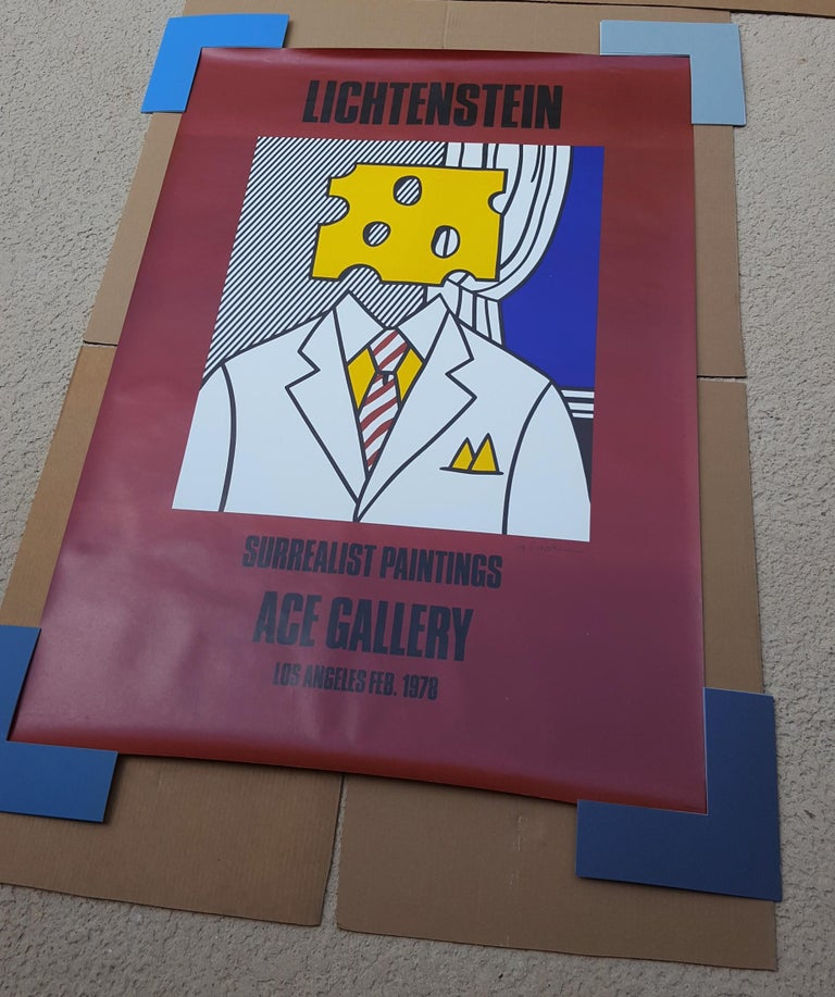 Surrealist Paintings: Ace Gallery (Signed) For Sale 12