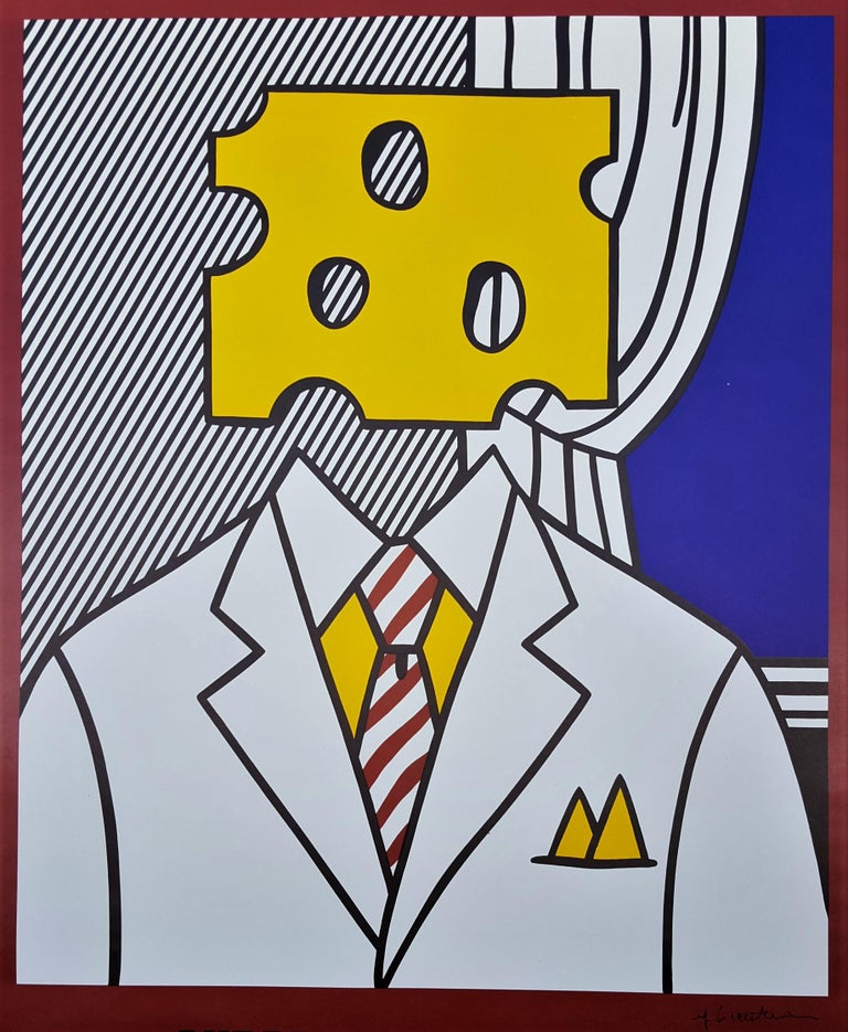 Surrealist Paintings: Ace Gallery (Signed) - Print by Roy Lichtenstein