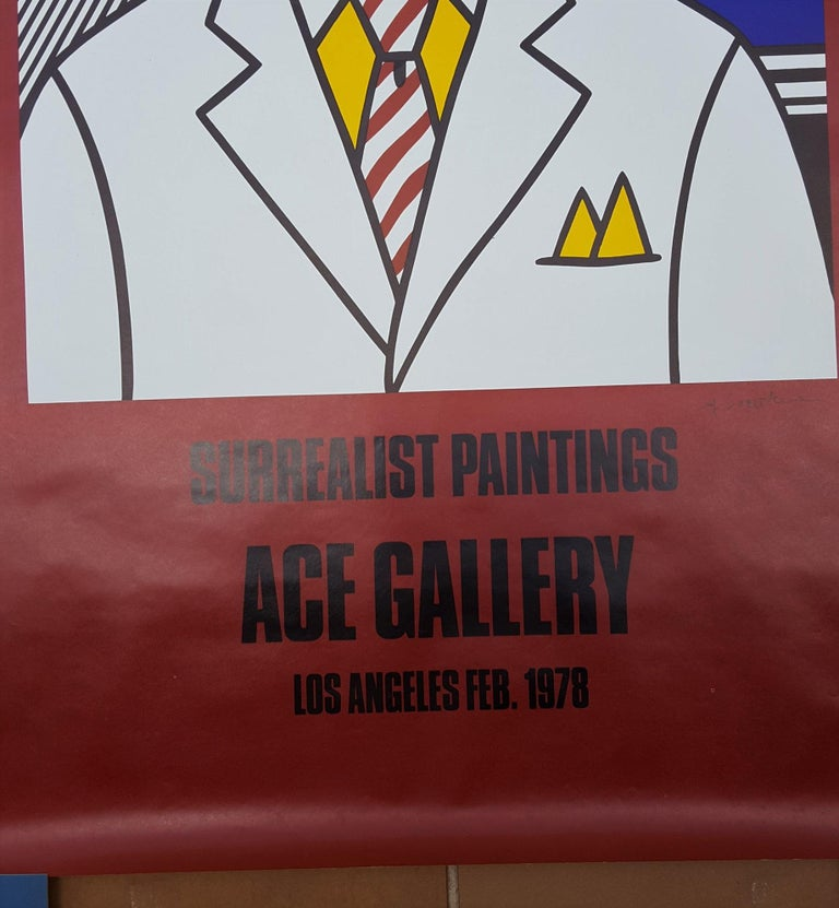 Surrealist Paintings: Ace Gallery (Signed) For Sale 1