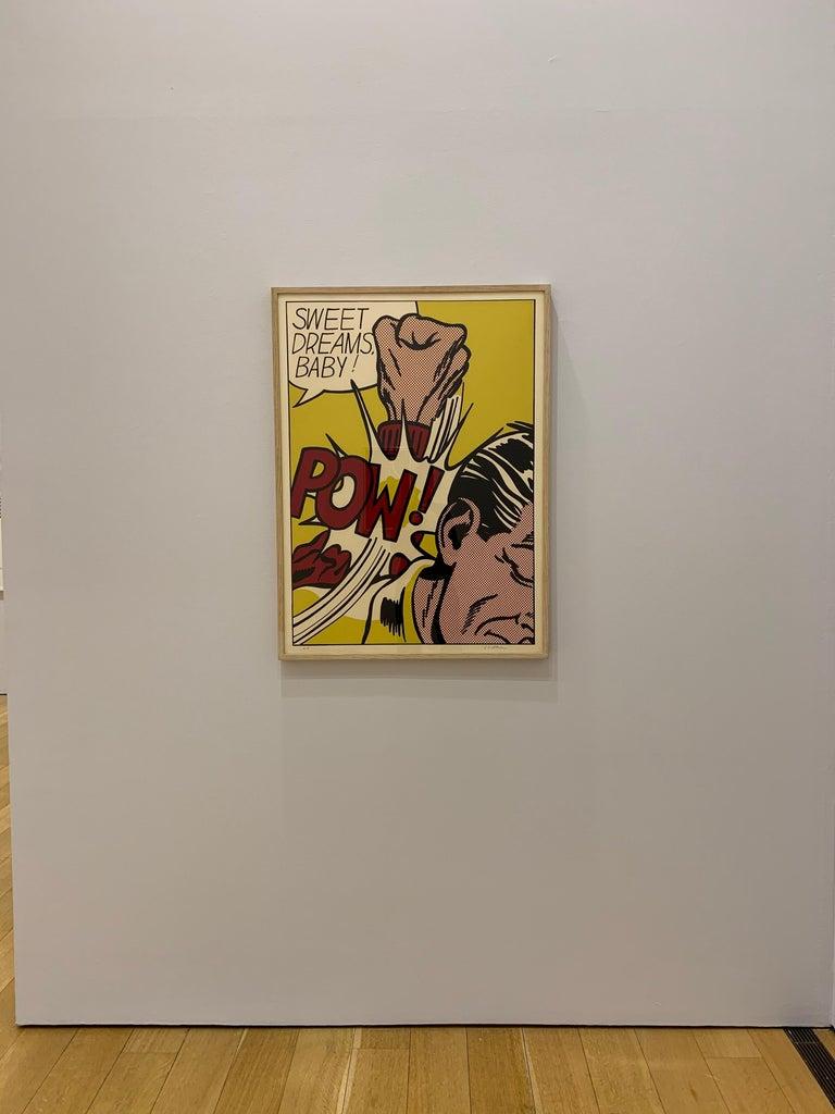 Sweet Dreams Baby!  - Pop Art Print by Roy Lichtenstein