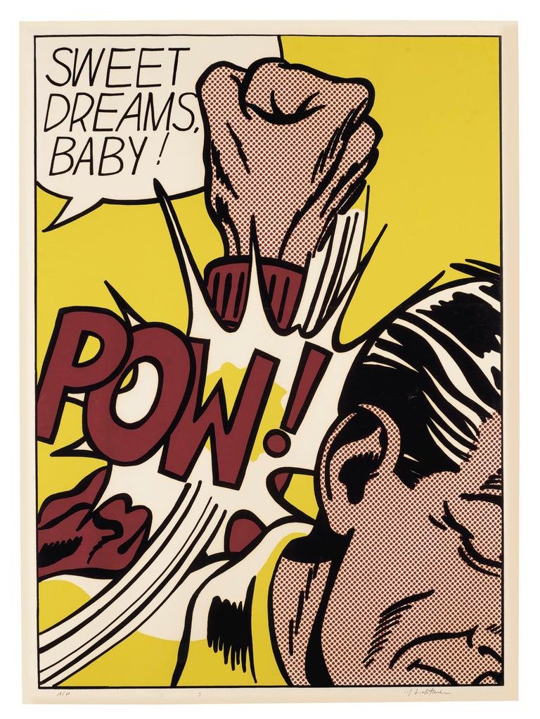 Sweet Dreams Baby!  - Print by Roy Lichtenstein