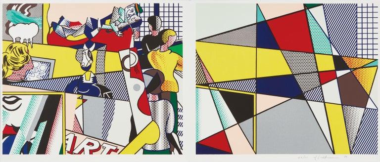 Roy Lichtenstein Figurative Print - Tel Aviv Museum Print