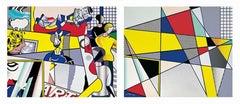 Tel Aviv Museum Print, Roy Lichtenstein