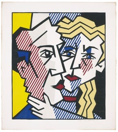 The Couple, from Expressionist Woodcut Series