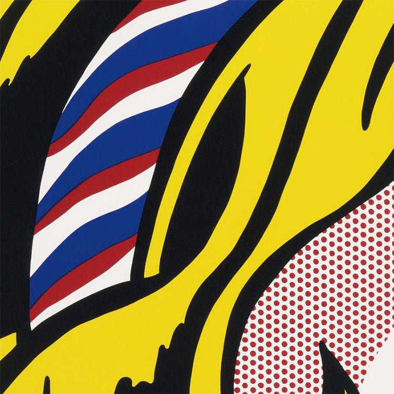 The Parrish Art Museum (Girl with Hair Ribbon 1965) Roy Lichtenstein For Sale 1