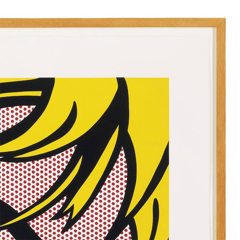 The Parrish Art Museum (Girl with Hair Ribbon 1965) Roy Lichtenstein For Sale 2